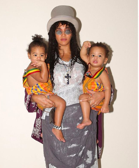 Beyonce Celebrates Her BDay With More Than 80 New Photos, Channels Lisa Bonet With Twins Rumi & Sir