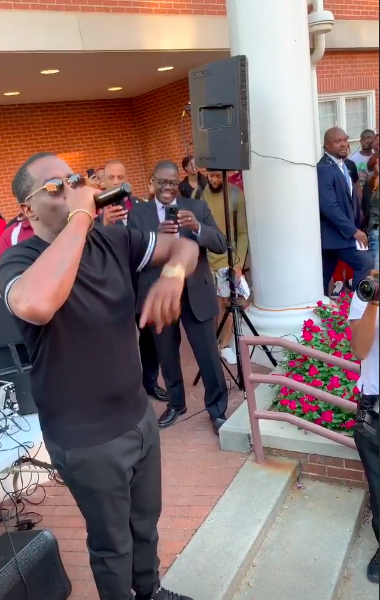 Diddy Turns Up At Morehouse College, Receives Award From Atlanta Mayor [VIDEO]