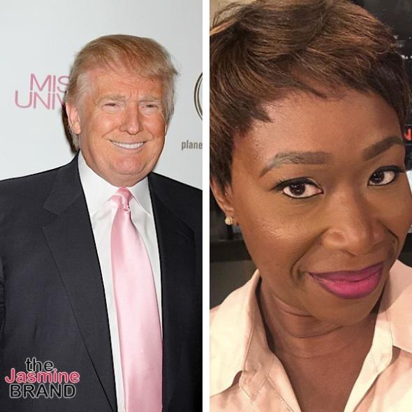 Donald Trump Slams Political Analyst Joy-Ann Reid 'She Knows ZERO About Me & Has NO Talent'
