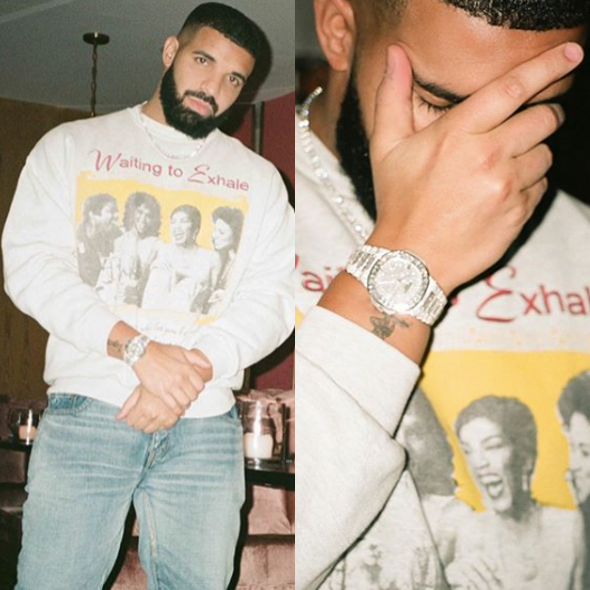 "Drake Pays Homage To ""Waiting To Exhale"" [Photos]"