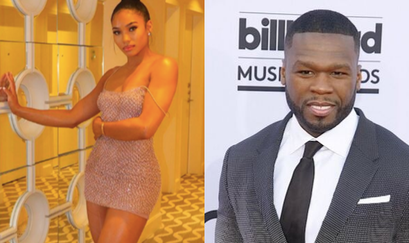 50 Cent's Girlfriend Reacts To Social Media User Who Tells Her, I Hope He Keeps His Hands To Himself
