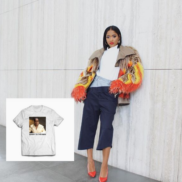 KeKe Palmer Releases 'Sorry To This Man' Tees After Becoming Latest Viral Sensation