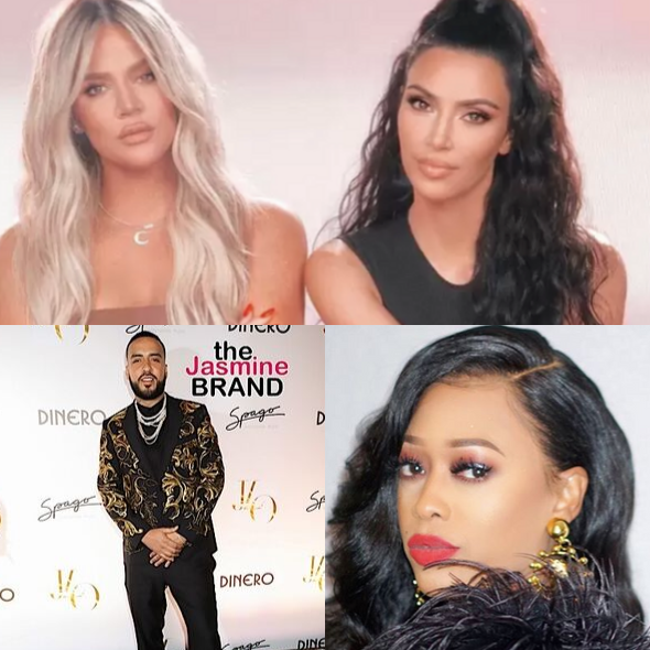 Kim Kardashian Says Khloe Never Stole French Montana From Trina & She Has 'Receipts' She Didn't Steal Kanye From Amber Rose