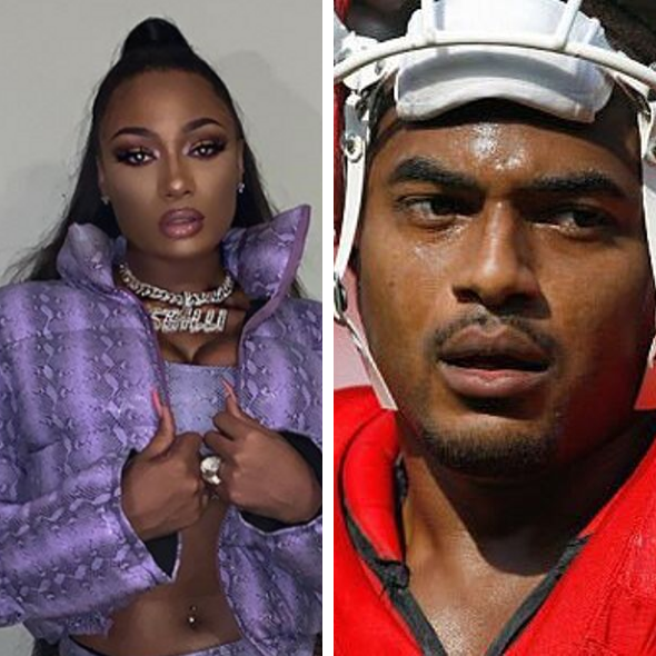 Megan Thee Stallion Reacts To Ex NFLer Larry Johnson's Comments About Her Mother's Passing