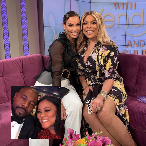 "Nicole Murphy Regrets Kissing Lela Rochon's Husband, Warns Women To ""Do Your Research"" About Men's Relationship Status + Denies Hooking Up With LisaRaye's Ex"