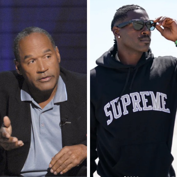 OJ Simpson Says He Hopes Rape Allegations Against NFL Star Antonio Brown Aren't True [VIDEO]