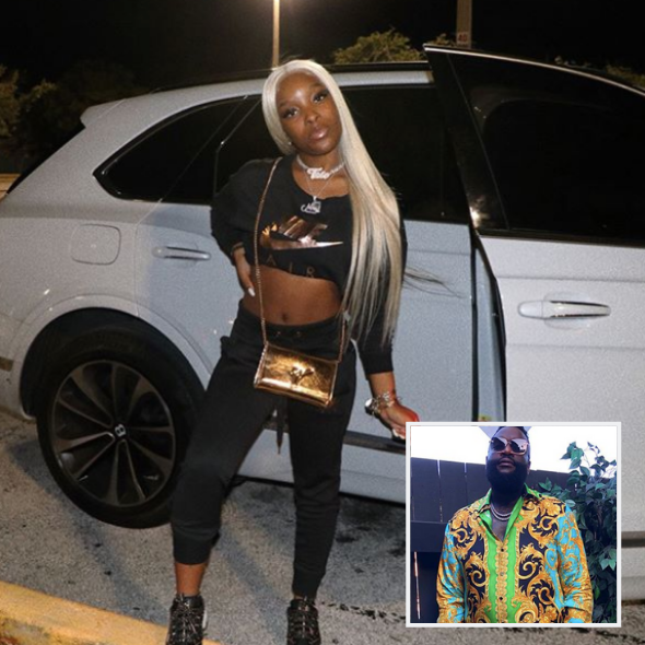 Rick Ross' Teenage Daughter Toie Roberts Posts Flat-Tummy Pics Amid Pregnancy Rumors [Photos]