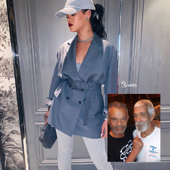 Rihanna Mourns Uncle After His Passing 'RIP Uncle Rudy!'