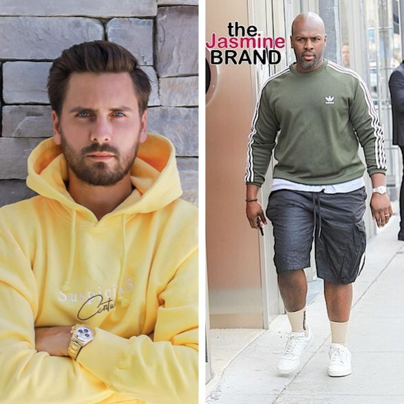 Scott Disick & Corey Gamble Get Into Screaming Match Over Whooping Disick's Daughter