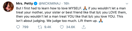 Nicki Minaj Shares Signs Of Being In A Toxic Relationship
