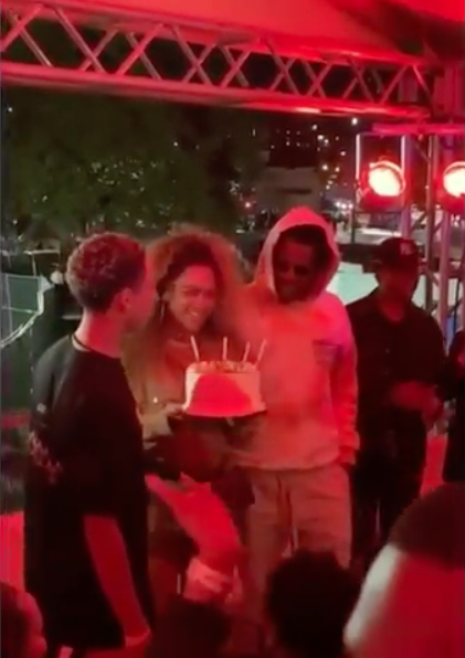 Beyonce Celebrates Her Birthday Early!