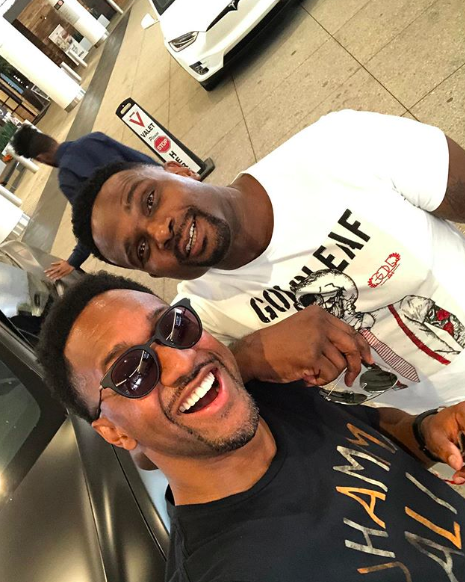 'Family Matters' Stars Darius McCrary & Jaleel White Reunite [PHOTOS]