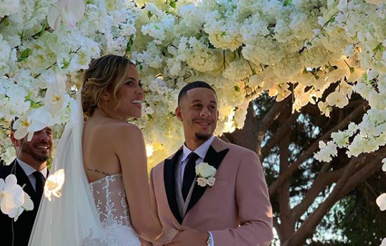 Coach Doc Rivers' Daughter Callie Rivers Marries Steph Curry's Brother, NBA Star Seth Curry