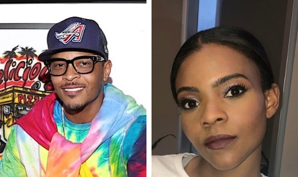 "T.I. Tells Candace Owens ""You Started With Some Bullsh*t"" During Heated Exchange Over Politics"