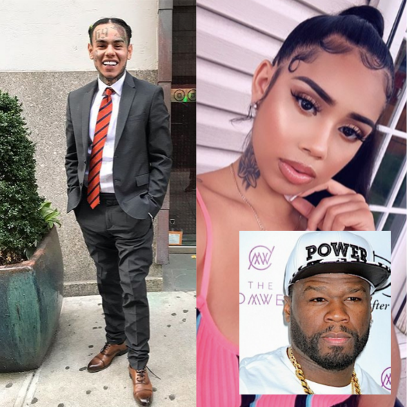 Tekashi 6ix9ine's Baby Mama Breaks Her Silence 'He Involved Himself In All Of This', Lashes Out At 50 Cent