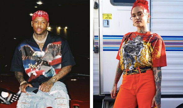 YG & Kehlani Are Dating! [Photos]