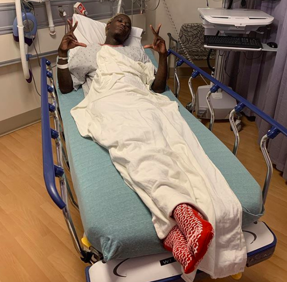 Young Thug Out Of Surgery, Shares Photo From Hospital
