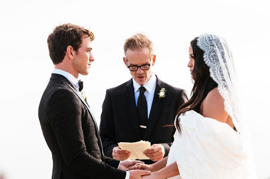 Cassie & Alex Fine Are Married! [Photo]