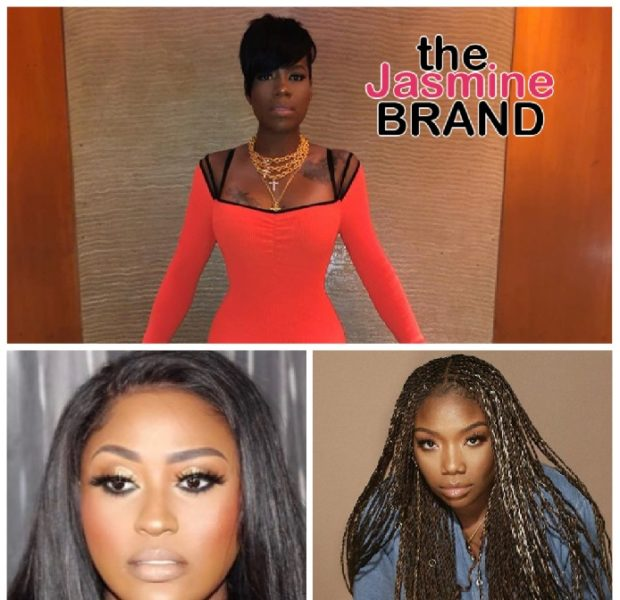 Fantasia Says Her Brandy & Jazmine Sullivan Collaboration Won't Be Released: I'm Used To The Politics