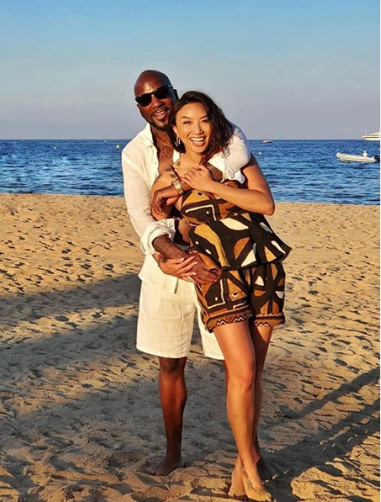 Jeannie Mai Reacts To Fan Who Asks Her If She's 'Gone Down On' Boyfriend Jeezy: Yessir
