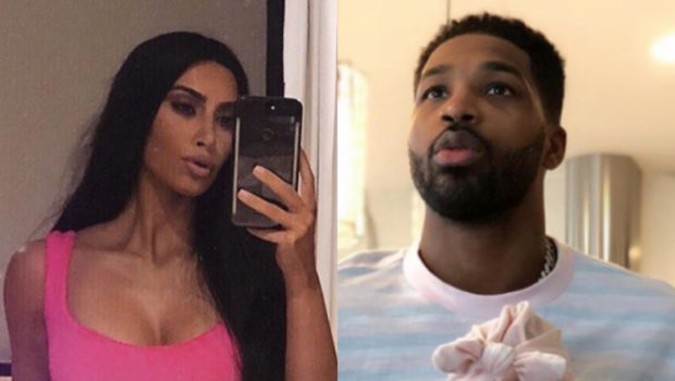 Kim Kardashian Compliments Tristan Thompson: He's A Great Dad! [VIDEO]