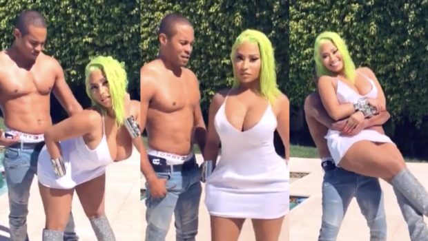 Nicki Minaj Turns Off The Comments While Posting Shirtless Fiance: I'm Giving Him A Month To Get His 6 Pack!