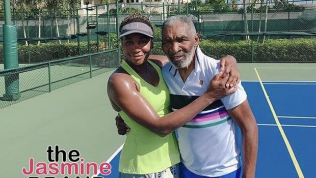 "Venus Williams Makes Rare Appearance With Her Dad: ""He never misses a home practice!"""