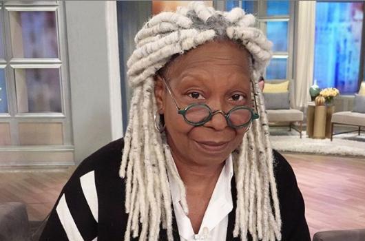 Whoopi Goldberg Debuts New Hair!