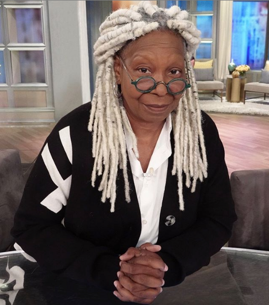 Whoopi Goldberg Debuts New Hair!