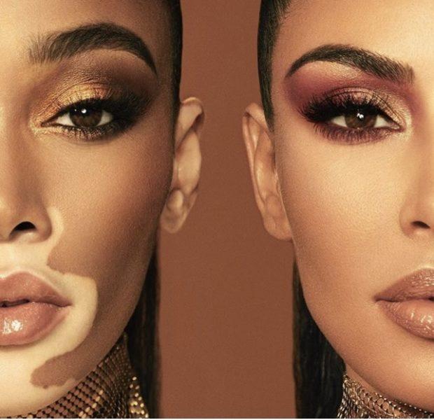 Winnie Harlow & Kim Kardashian Team Up For KKW Beauty Collection