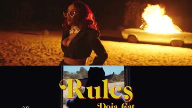 "Doja Cat Bosses Up For ""Rules"" Video"