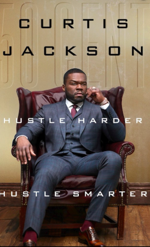 50 Cent Announces New Book 'Hustle Harder, Hustle Smarter'