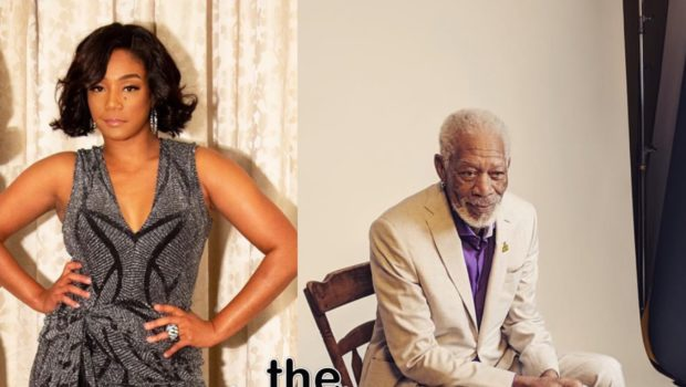 Tiffany Haddish Says She Was Checked By Morgan Freeman For Taking A Selfie