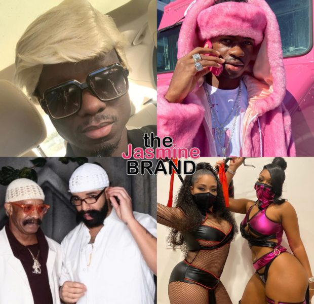 Best Celeb Halloween Costumes: Drake, Lil' Nas X, Megan Thee Stallion, Lupita Nyong'o, Kobe Bryant [PHOTOS]