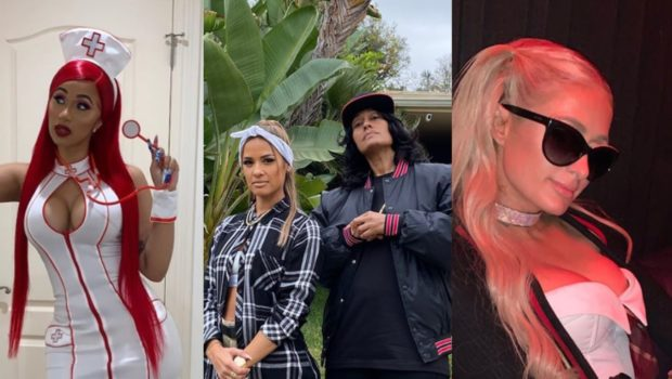 Pre-Halloween Costumes: Cardi B, Tracy Ellis Ross, Nicki Minaj, Paris Hilton & Larsa Pippen [Photos]