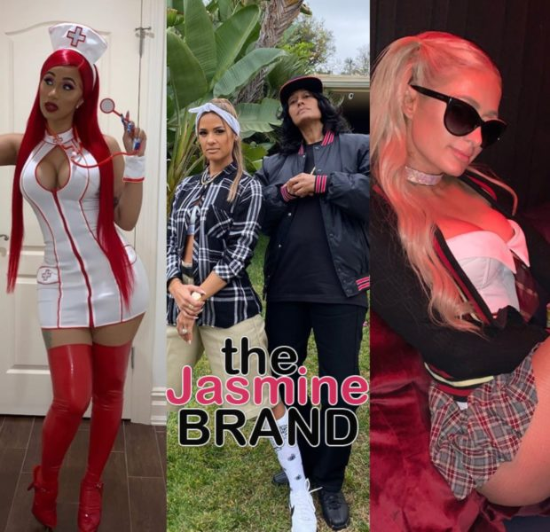 Pre-Halloween Costumes: Cardi B, Tracy Ellis Ross, Nicki Minaj, Paris Hilton & Larsa Pippen [Photos]
