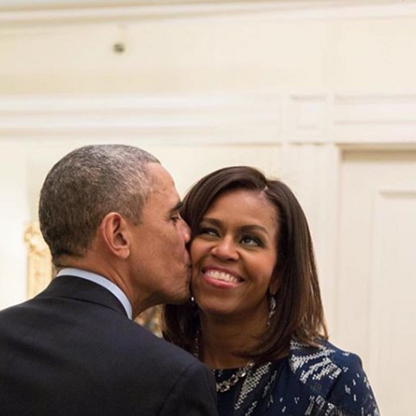 Barack & Michelle Obama Celebrate 27th Wedding Anniversary!
