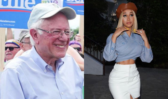 Bernie Sanders Is Still Cardi B's Pick For President After His Heart Attack 'People Are Trying To Paint Bernie As This Little Scrawny Man, Which Is Crazy!'