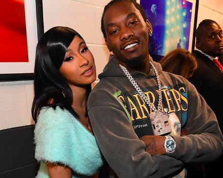 Offset Upgrades Cardi B's Ring To Titanic Diamond For Her Birthday [VIDEO]