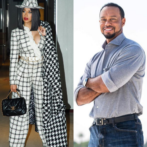 Cardi B: I'm Gonna Name My Album Tiger Woods