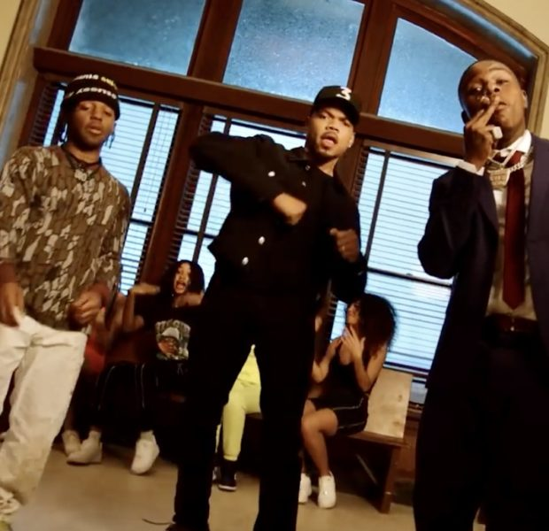 "Chance the Rapper Debuts ""Hot Shower"" Video, Features Cameos From Da Baby & Kel Mitchell"