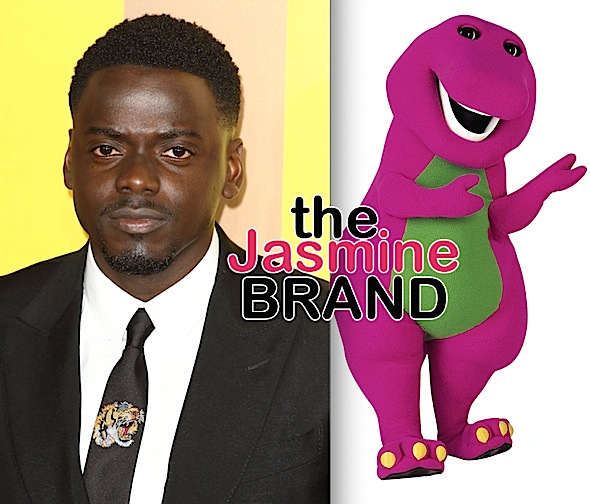 """Get Out"" Star Daniel Kaluuya To Produce Live-Action Barney Movie"