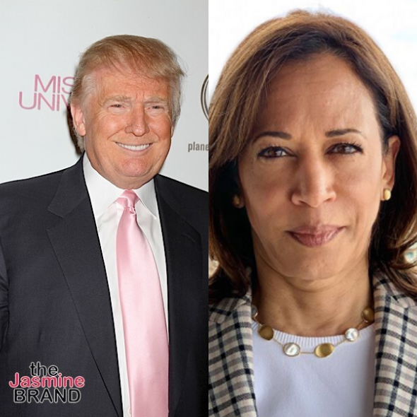 Kamala Harris & President Trump Trade Insults After She Pulls Out Of HBCU Event Honoring Trump