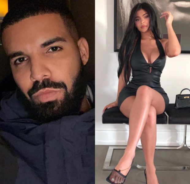 Drake & Kylie Jenner Spotted Flirting At His 33rd Birthday Party