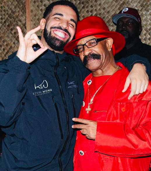 Image result for drake and his dad
