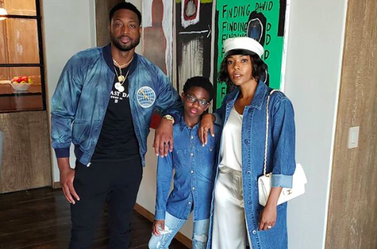 Dwyane Wade's Child Identifies As Female, Changes Her Name To Zaya