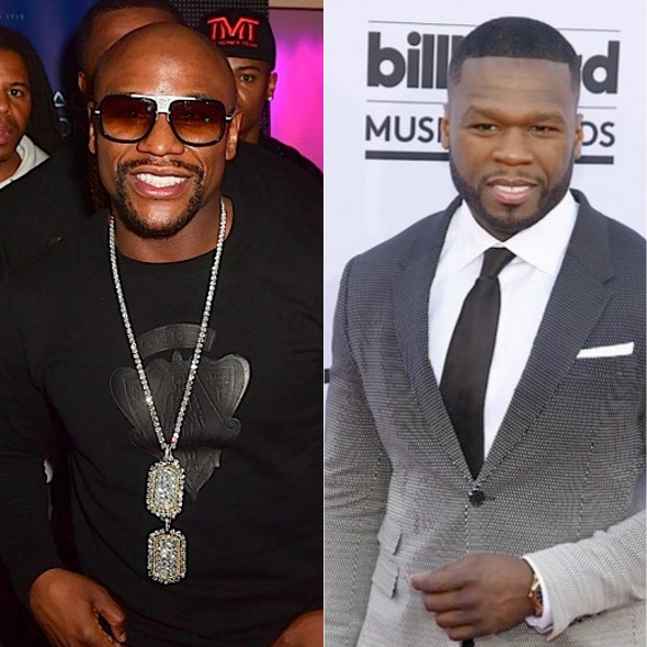 50 Cent Reignites Feud With Floyd Mayweather, Boxer Accuses Him Of Having Herpes