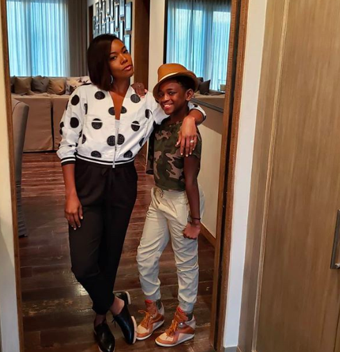 Gabrielle Union Defends Husband Dwyane Wade Referring To Son Zion As A Girl