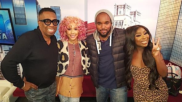 Jasmine Brand Guest Co-Hosts On Dish Nation