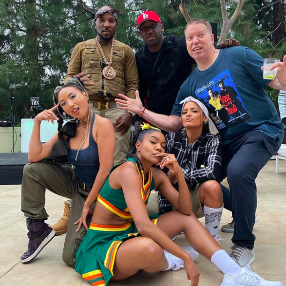 Gabrielle Union Throws Epic Costume Themed B-Day Party: Saweetie, Too Short & E40 Perform [VIDEO]